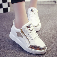 Hero Yang 2015 fall increased in the new women's shoes platform shoes sneaker shoes women students ' increased flows