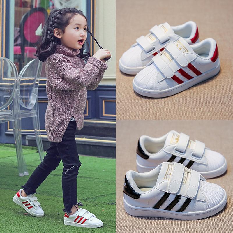 Оболочка глава случайный девочки обувной дыхания обувной мальчиков обувь меш дети белые туфли 2017 новый волна корейский