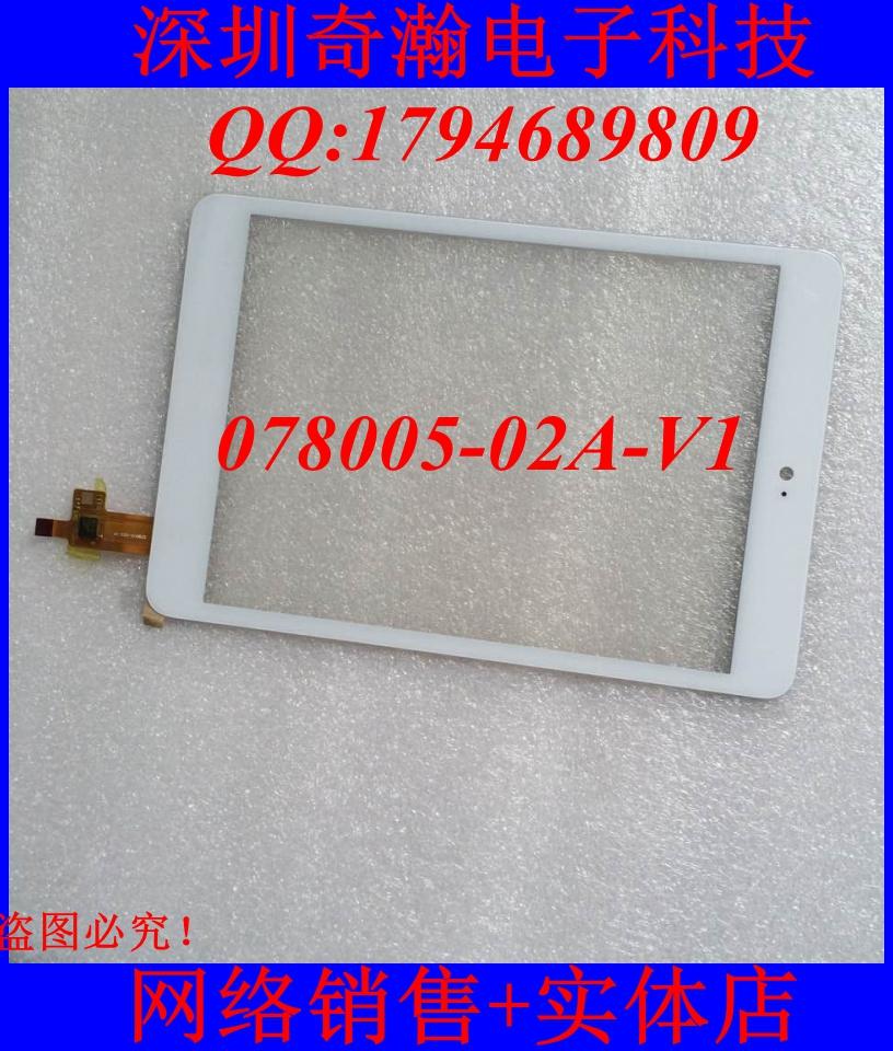Оригинальный новый 078005-02A-V1 экрана планшетного компьютера сенсорный экран написано вне экрана