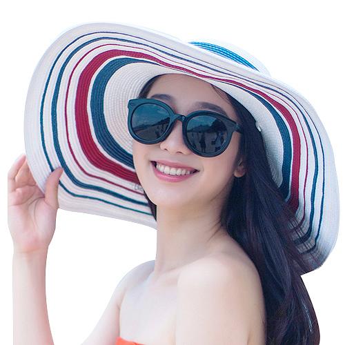 可折叠防紫外线沙滩帽 再晒都不怕