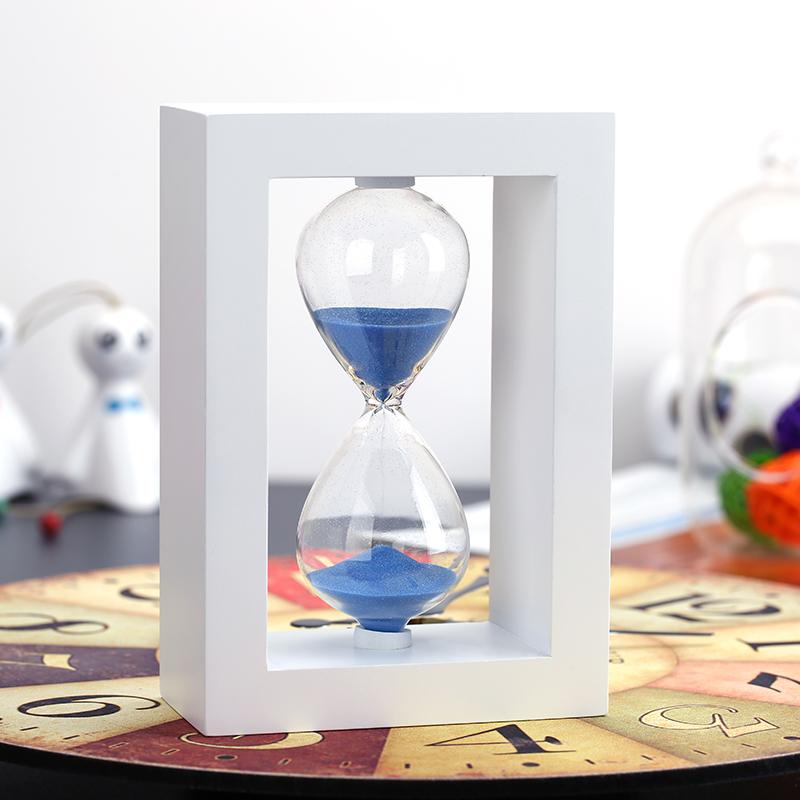 沙漏計時器10 30 45 60分鍾 裝飾品擺件送男女友教師節