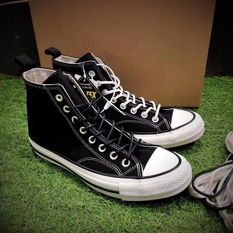 【独家】现货野口强三方联名ADDICT余文乐同款高帮黑白男女帆布鞋