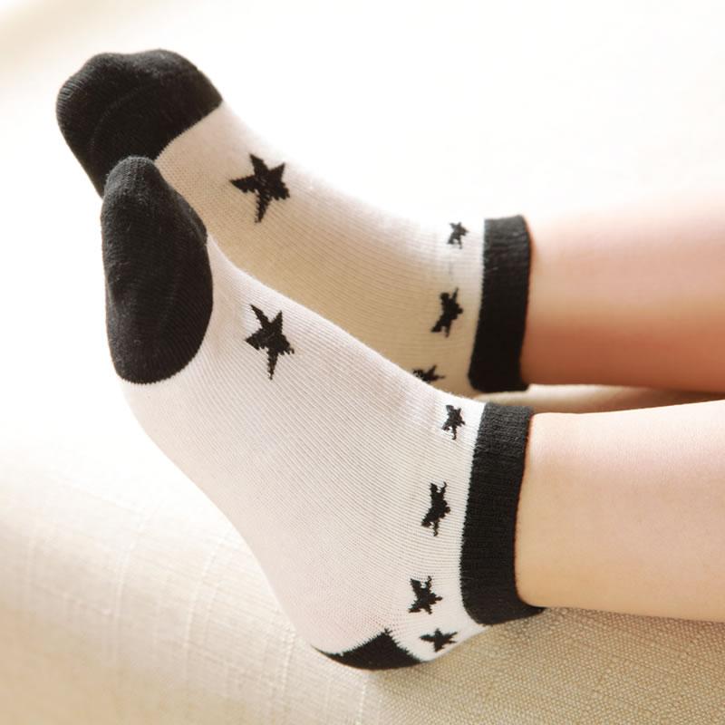 兒童船襪 大童男女童短襪 3~5~14歲寶寶學生襪春秋款棉襪(5雙裝