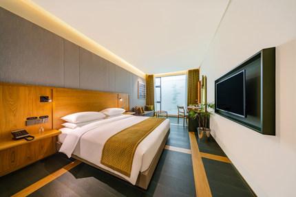 瓦当瓦舍酒店·成都金融城环球中心店和风·别致大床房