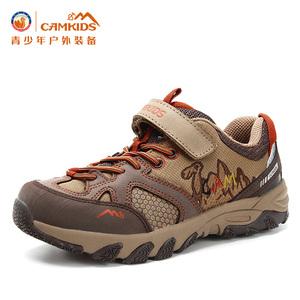 【年末特惠】camkids小骆驼男童鞋春秋儿童登山鞋防滑耐磨运动鞋