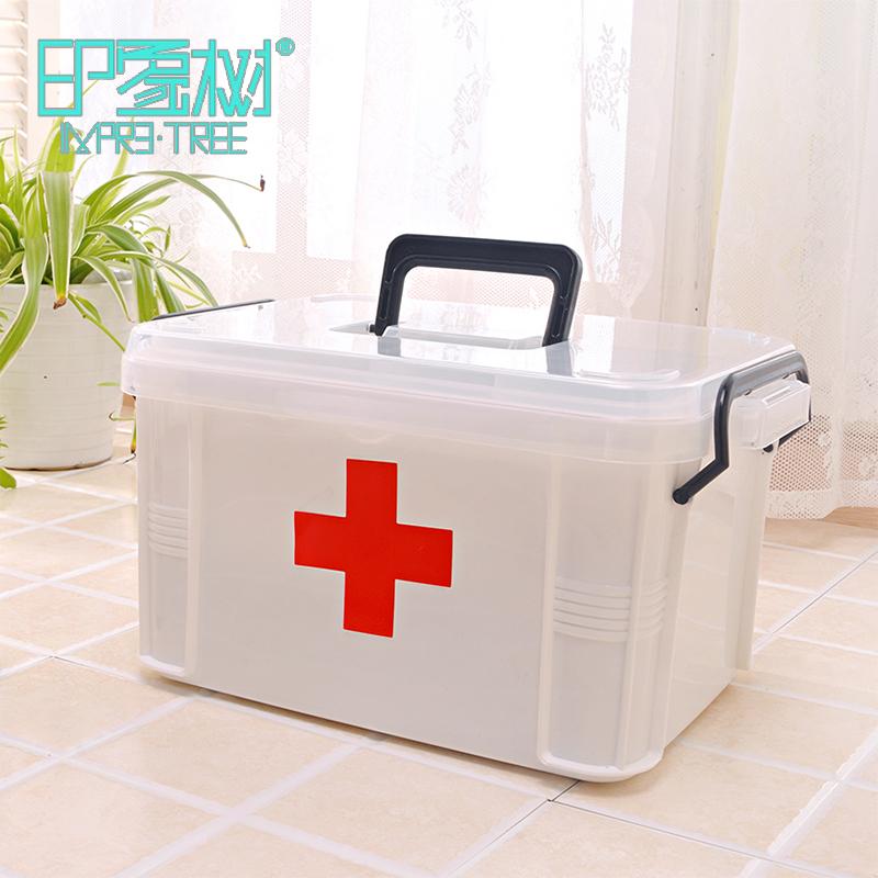 Семья xl врач аптечка многослойный первая помощь медицина статья хранение здравоохранение коробка домой пластик дети аптечка коробка