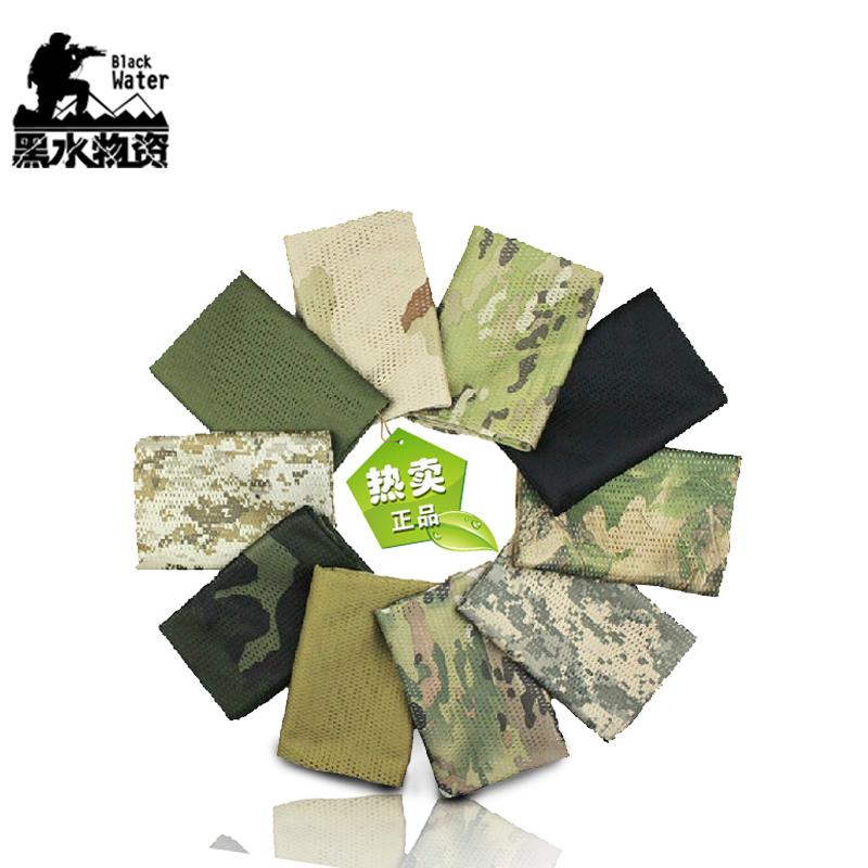 Специальный тип солдаты чистый полотенце на открытом воздухе джунгли ложный наряд чистый полотенце шарф воздухопроницаемый нагрудник армия фанатов камуфляж тактический камуфляж шарф