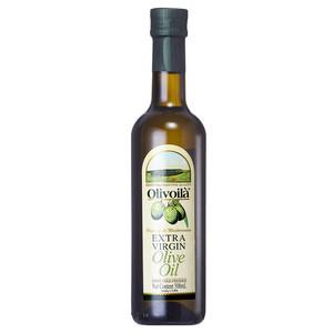 欧丽薇兰 特级初榨橄榄油 500ml/瓶 食用油 原油进口