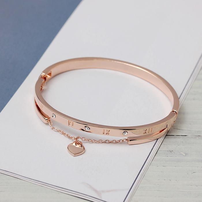 【 каждый день специальное предложение 】 выигрыши браслет женщина влюбиться звезды любовь горный хрусталь из розового золота 18k корейский кристалл руки цепь