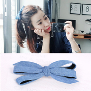 Know Connie hair accessories Korean cute fabric by the butterfly first clip Duckbill clip Clip clip Clip hairpin girls hair clips