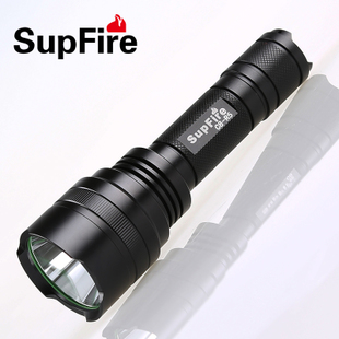 SupFire C8 flashlight rechargeable household long range self defense anti wolf Ms Mini Package