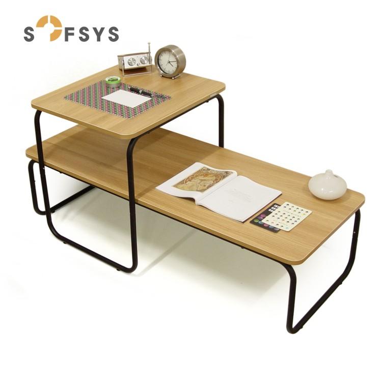 SOFSYS сталь деревянный чайник несколько простой крышка несколько таты стол чай тайвань печка несколько гостиная край стол диван стол WT025
