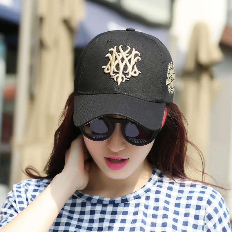 女士帽子夏秋天棒球帽戶外 帽 情侶鴨舌帽嘻哈帽防曬遮陽帽