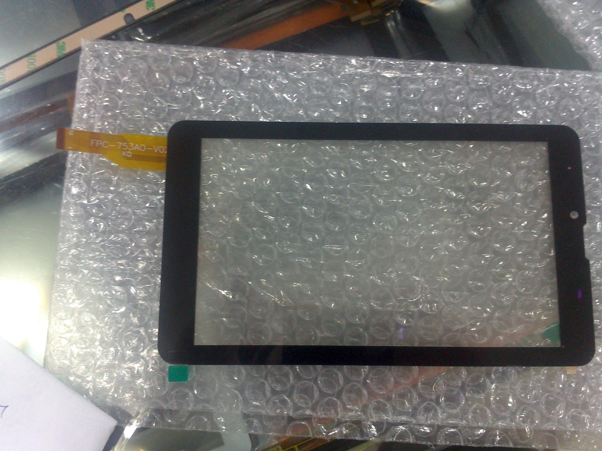 KQ FPC-753A0-V02 внешний сенсорный экран письмо таблетки