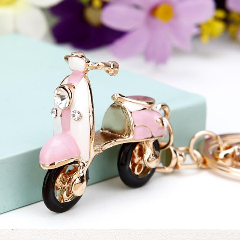 (用4.99元券)韩国创意礼品可爱水钻女包挂件水晶
