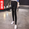 Korean female black leggings Waichuan autumn 2017 new summer thin models wild was thin tight pencil pants feet