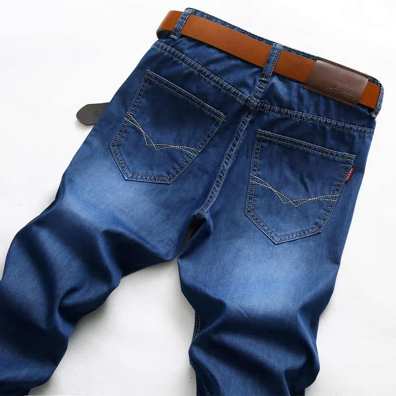 獵人頭男裝加絨牛仔褲男 長款褲子 百搭直筒修身潮款