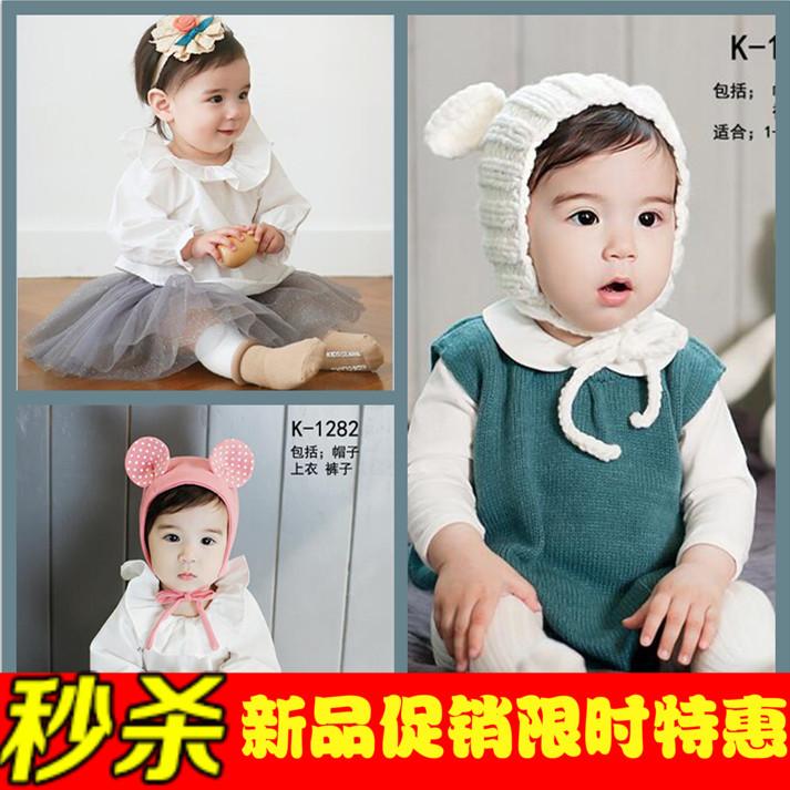 2016新款韩式儿童摄影服装影楼小女孩写真拍照服饰 照相童装
