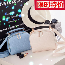 Female bag 2015 summer new double zipper small square BaoLing euramerican fashion single small shoulder bag, BaoChao handbag
