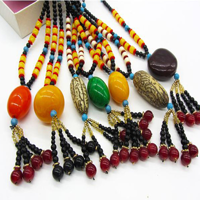 Package mail handmade beaded long sweater chain bodhi adornment necklace folk literary vogue deserve to act the role of chun xia men and women
