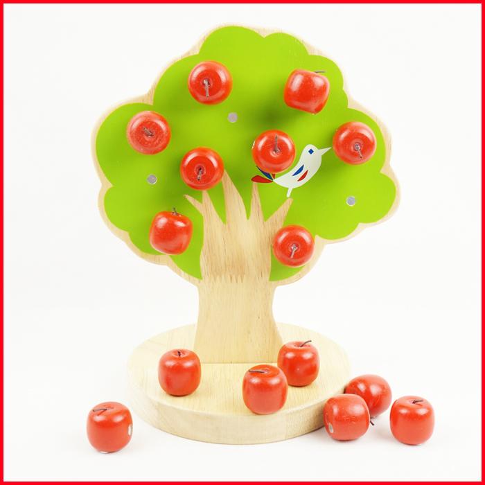 蒙氏早教益智儿童磁力磁铁玩具1-2-3周岁男孩拼装构建类智力积木