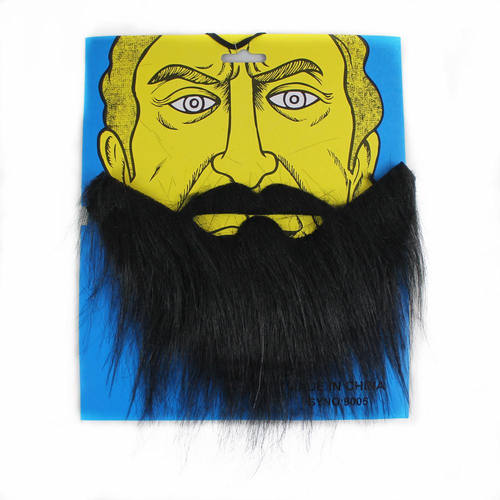 宸��30g搞笑胡子�影人物假胡子假胡� 黑色大胡子