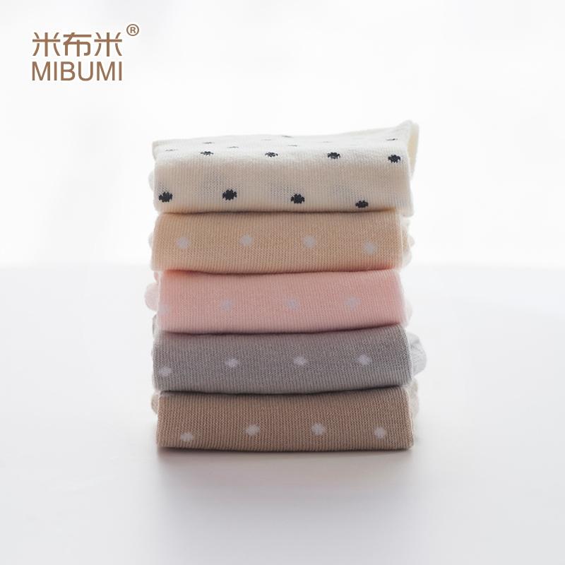孕婦襪鬆口月子襪全棉秋產婦襪子中筒花邊純棉寬口襪糖果色五雙裝