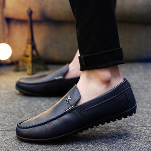 Лето горох туфли мужской корейский англия обувь casual ботинки педаль бездельник обувь подростков воздухопроницаемый мужская обувь