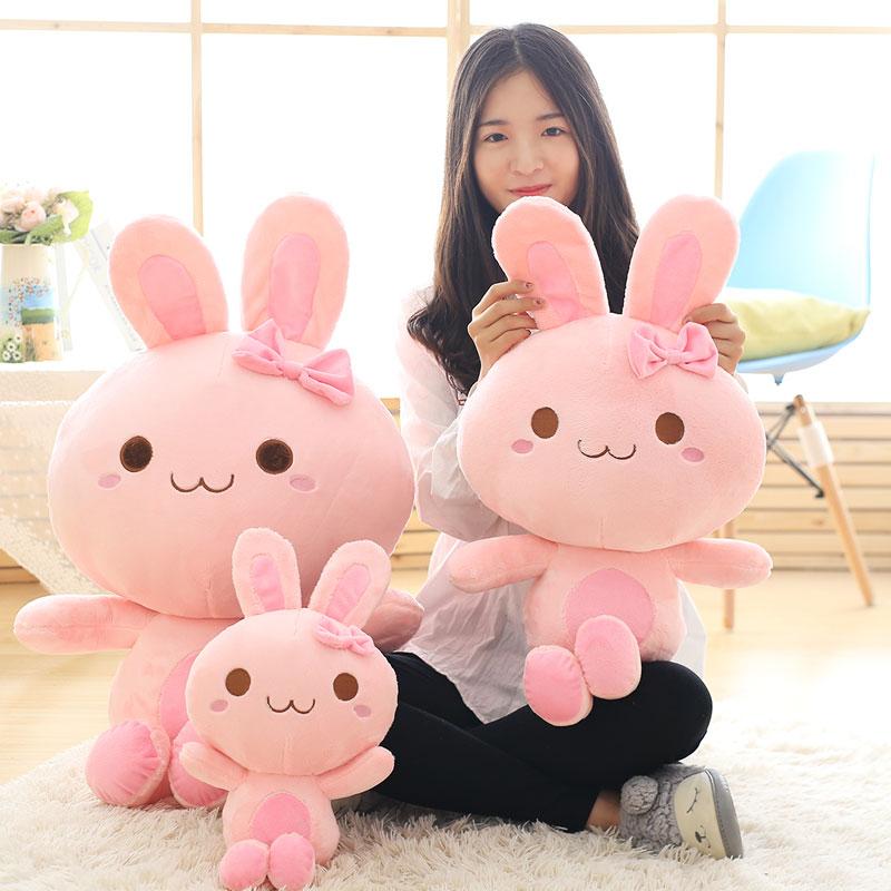天使兔毛絨玩具