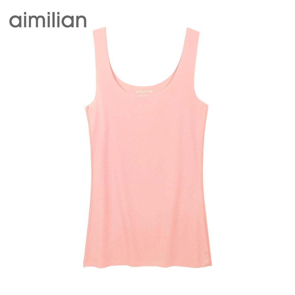 Модальных жилет женщин бесшовные камзол дамы летние стили Эми люблю вы положили базовый жилет сплошной цвет