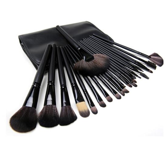 Макияж кисти установить Профессиональные щетки 24 красоты косметика для макияжа макияж кисти макияж кисть