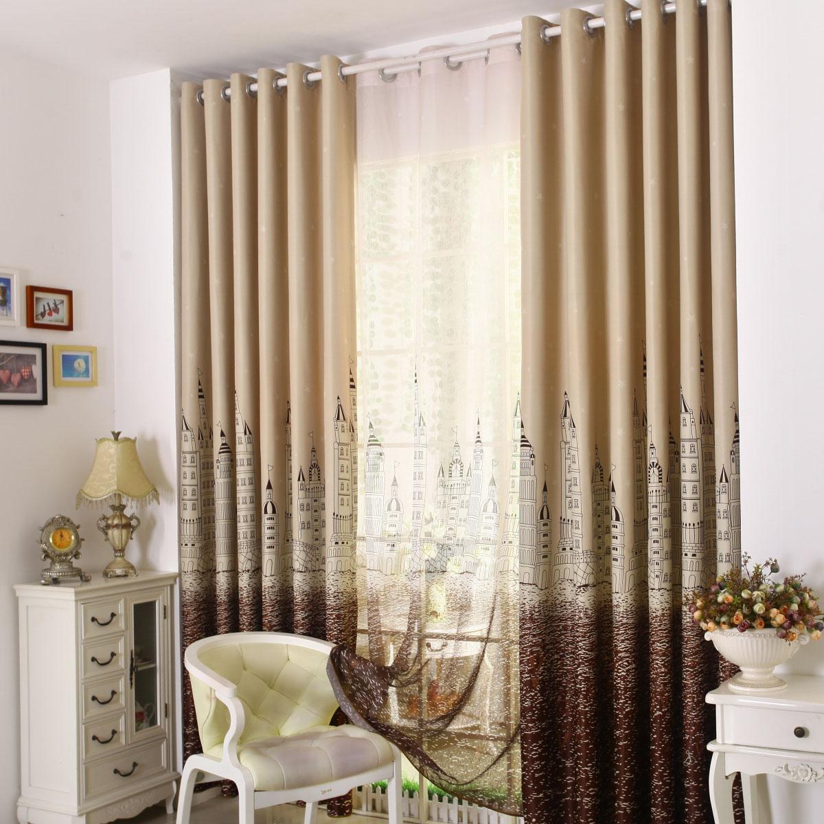 Печатные шторы и производит высокое качество тени ткань ткань гостиная спальня замок на электронной почте специальные пряжи занавес воды