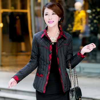 2020新款大码韩版羽绒棉内胆羽绒服中老年女装棉衣棉服妈妈装外套