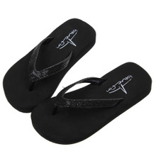 Foreign trade the original single Bluefin summer slippers Fashion sequins Children flip-flops antiskid sponge soft bottom