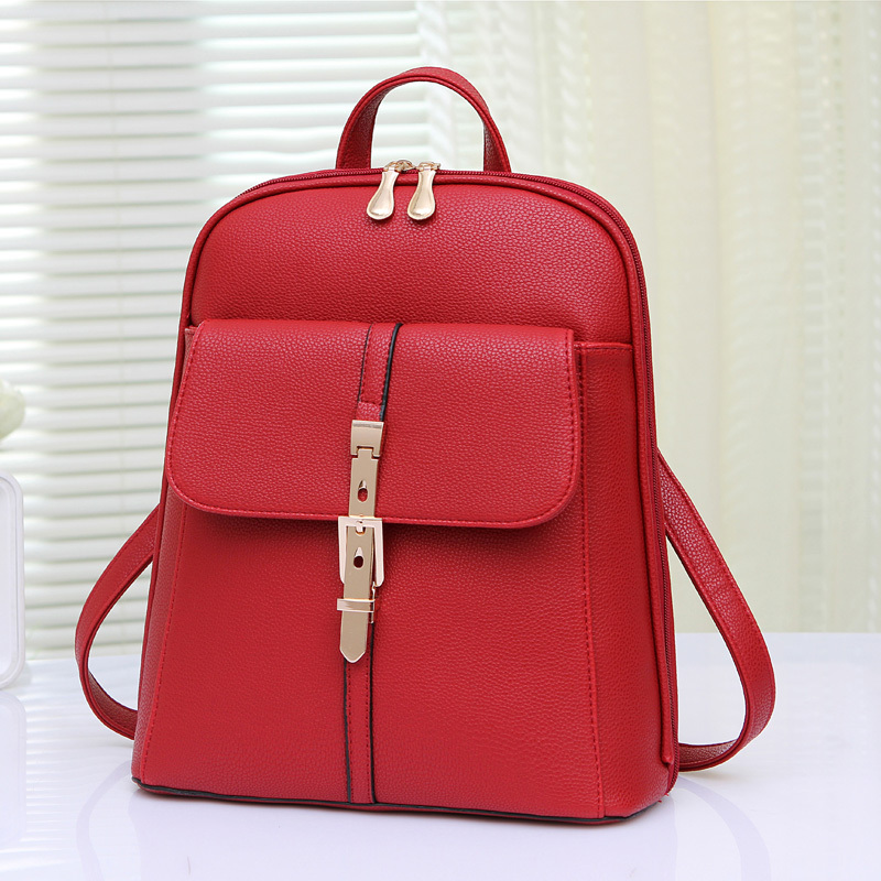 6ddfdb763246 On every day special shoulder bag female 2015 new summer new Korean female  bag retro College Wind backpack schoolbag white - Taobao Depot