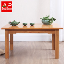 Aipin Bamboo Kang Table kang a few beds on the table Low table small table tatami coffee table fluttering window table Kang on the table home