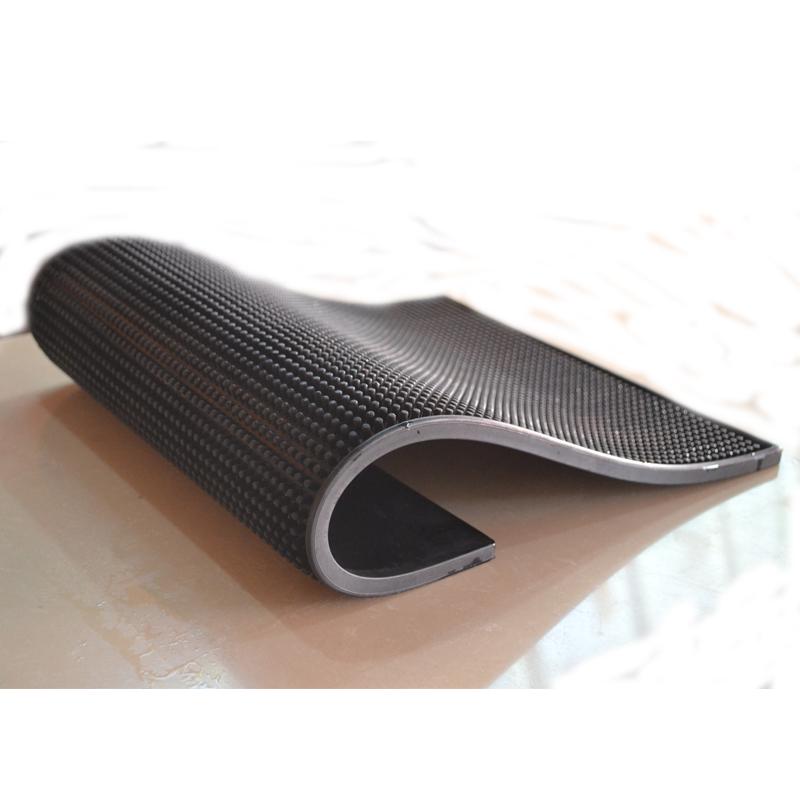 水杯厨房滤水方垫方形餐饮用具软胶杯垫隔水高级水壶杯子吧台垫
