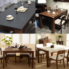 清仓款 白蜡木餐厅家具 餐桌 库存有限请联系客服核实库存再付款 1639元