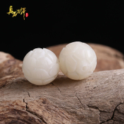True rock interpretation of the Lotus beads DIY natural white bodhichitta Xingyue vajra Bodhi Accessories Accessories round Pearl loose beads