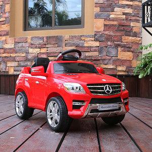 群兴 奔驰儿童电动车四轮童车可坐人2.4G宝宝玩具电瓶汽车带遥控