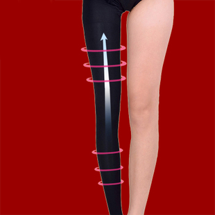 Value 680D stovepipe socks fat burning shaping leggings Waichuan Slim pilling meters stovepipe legs socks