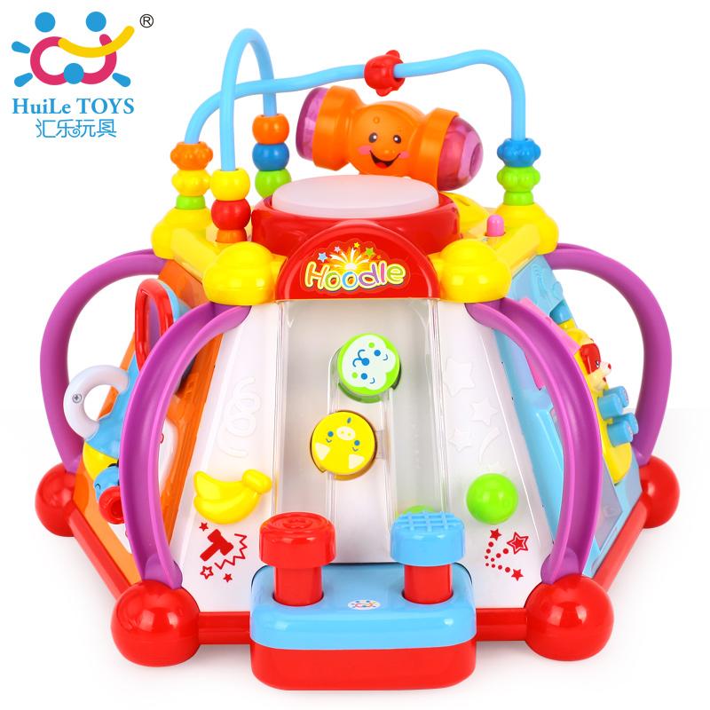 汇乐玩具806快乐小天地儿童益智玩具台游戏桌婴幼儿宝宝早教13岁