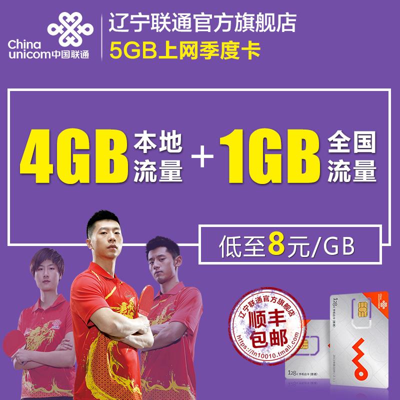 遼寧聯通4G無線上網卡ipad手機筆記本純流量卡上網資費卡