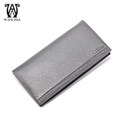 Wanlima/around the horse fall 2015 new men's wallets business long bi-fold men's wallet leather wallet