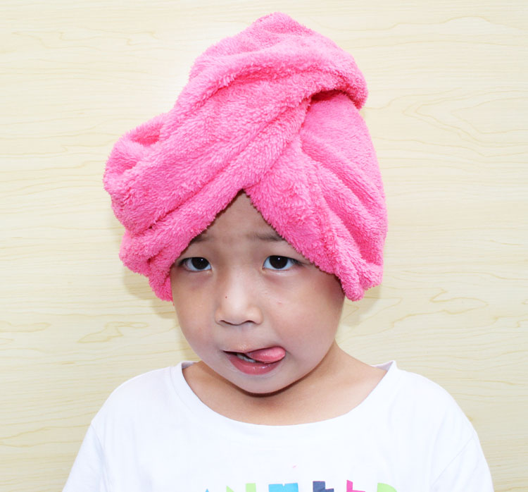 Dry hair cap bath cap absorb water to increase thickening Baotou towel dry hair towel quickly dry hair