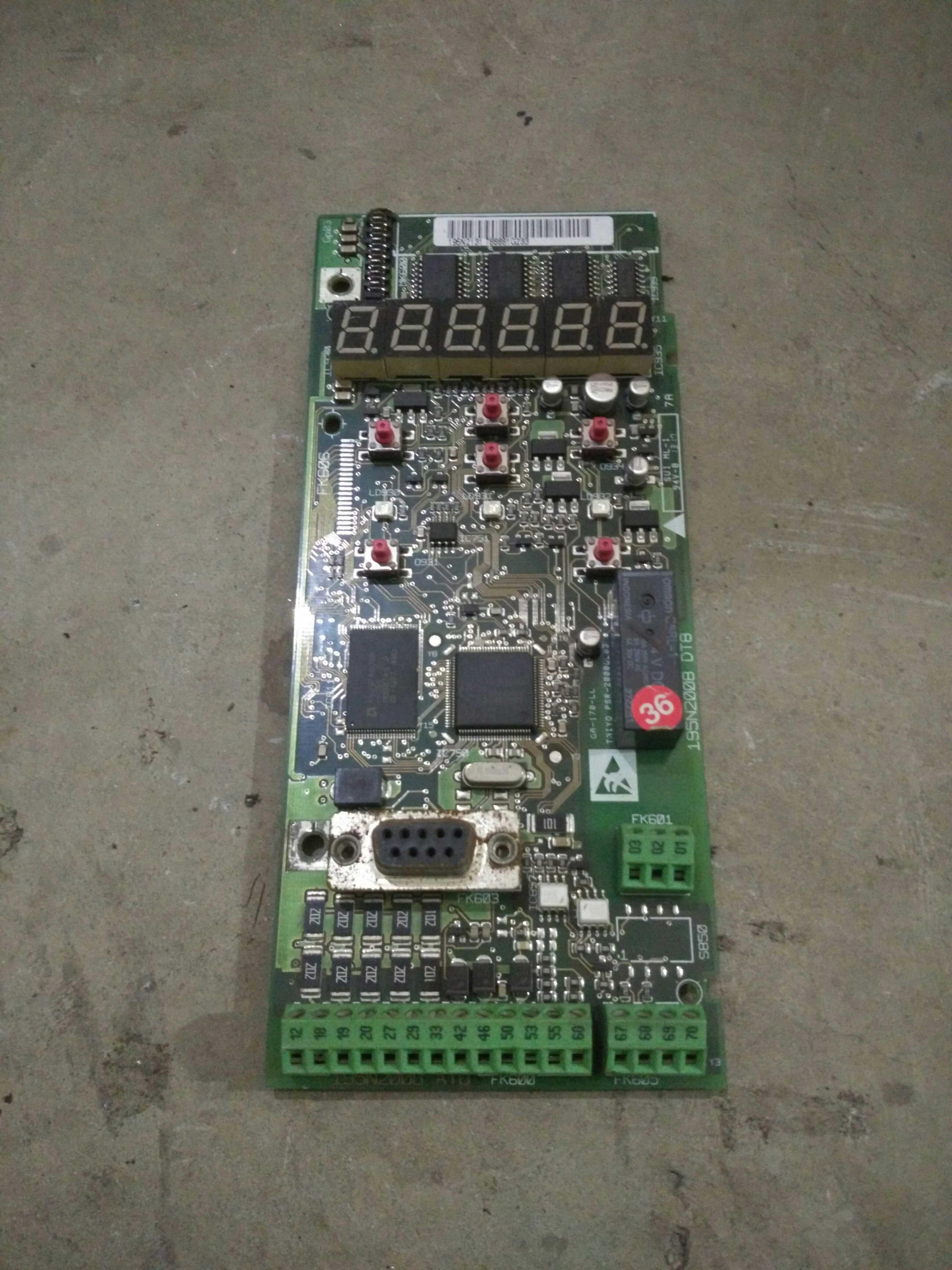 Красный будда этот преобразование частот устройство материнская плата /C кожзаменитель доска господь контроль доска VLT2800 VLT2900 серия