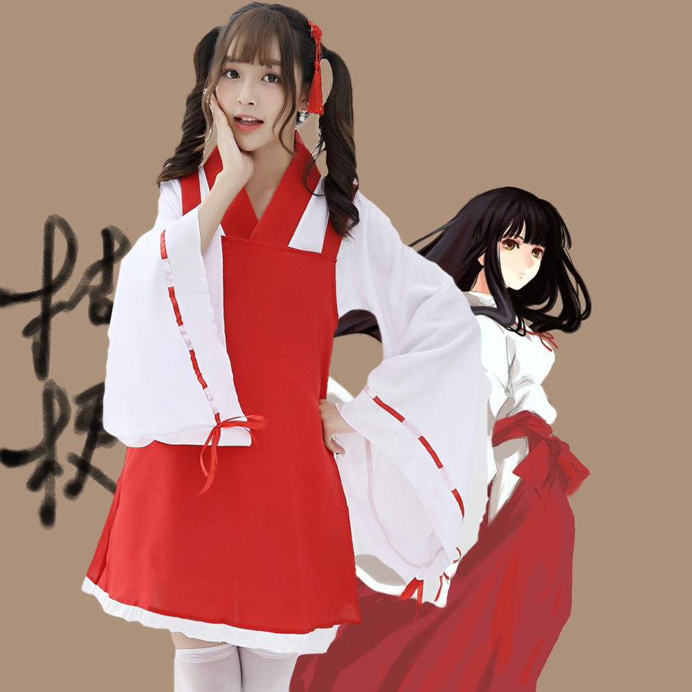 New Anime clothing modified version of kimono dog night fork Platycodon witch womens Cosplay role-playing clothes