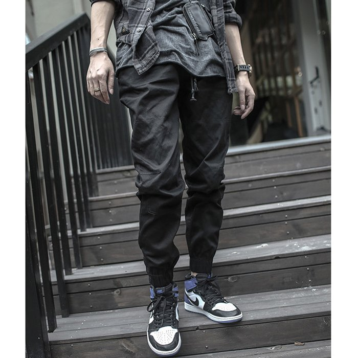 Covert the third generation jogging Leggings sports casual pants trendy mens cloth pants shrink leg pants small feet close leg pants slim fit