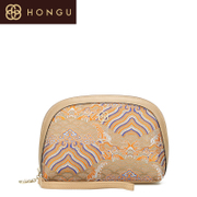 Honggu 2015 counters authentic new style fashion leisure red Valley Chinese style leather ladies bag hand bag 1842