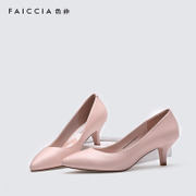 Non-pre-spring 2016 pointy shoes girl Faiccia/to a light shoe stiletto shoes with sweet 2P01
